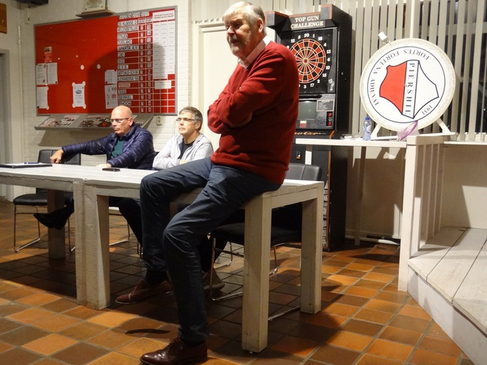 SV Piershil-voorzitter Henk Heikoop.