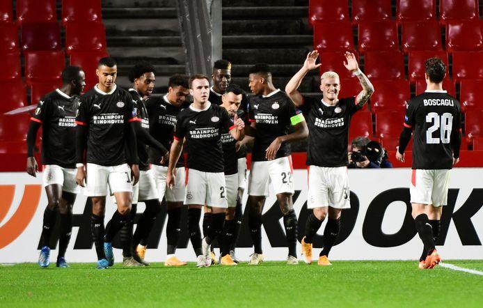 In december verraste PSV met een overwinning bij Granada, waardoor overwintering in de Europa League zeker was.