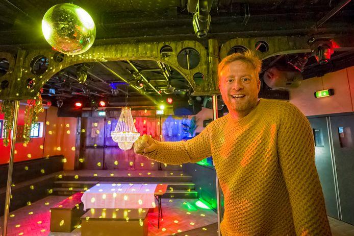Vincent Marshall van Club Westwood is druk bezig zijn Woodpecker festival voor 3750 mensen te organiseren.