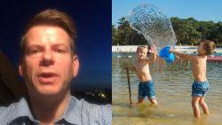 """Weerman David: """"Zonovergoten weekend met maxima tot 26 graden"""""""