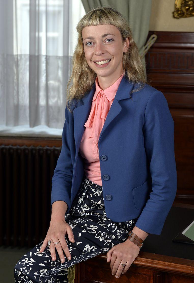 'De ongelijk-heid tussen man en vrouw is groot', vindt Evita Willaert (Groen). Beeld BELGA