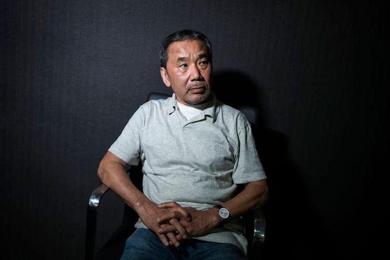 Haruki Murakami  Beeld Hollandse Hoogte