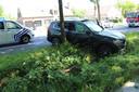 De twee bestuurders liepen verwondingen op bij het ongeval op de Bredabaan in Brasschaat.