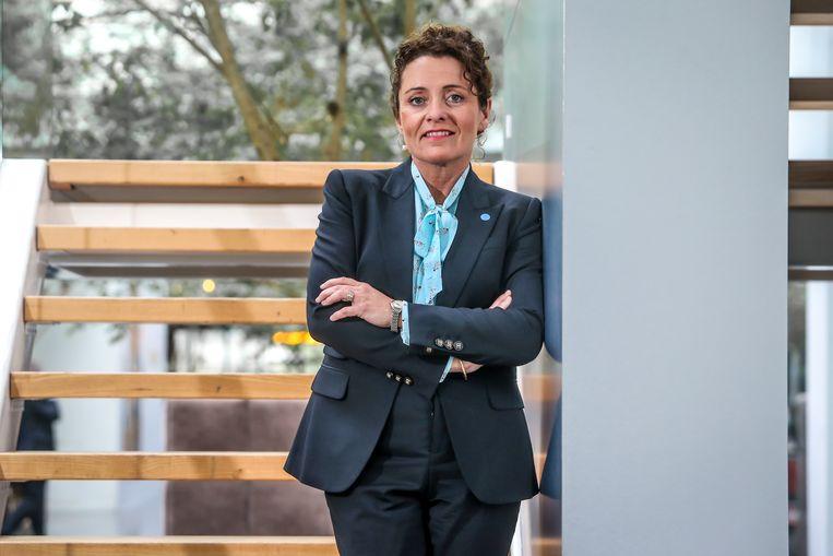 Lydia Peeters, lijsttrekker (Vlaams Parlement) voor Open Vld in Limburg.