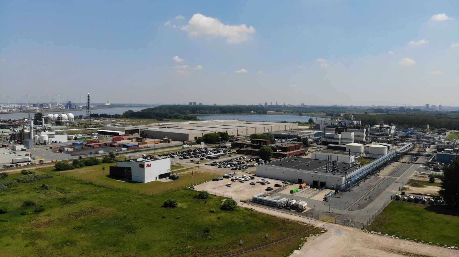 3M fabriek in Zwijndrecht bij Antwerpen