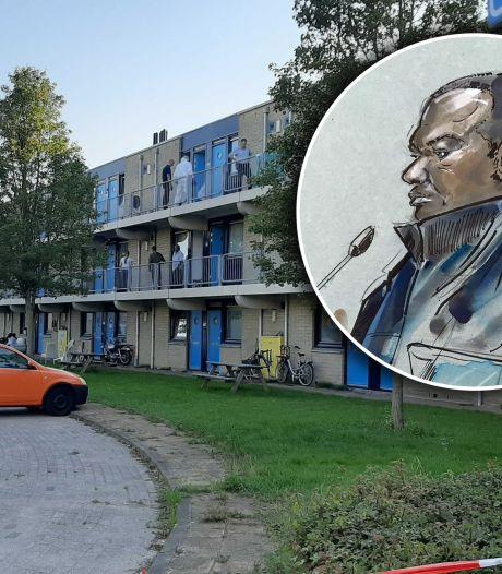 Zestien messteken bij fatale burenruzie in Lelystad: Edward A. (37) krijgt tbs met dwangverpleging