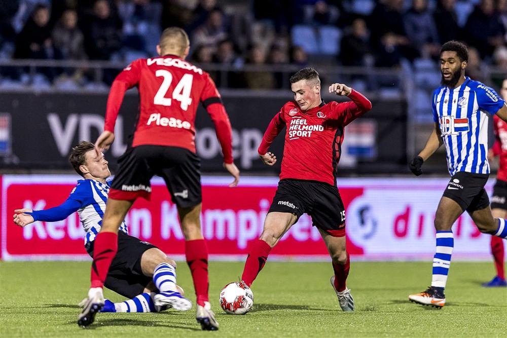 Kay van de Vorst speelde in totaal tien wedstrijden voor Helmond Sport, waaronder in de derby met FC Eindhoven.