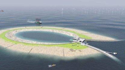De Haan blijft zich verzetten tegen eiland voor de kust