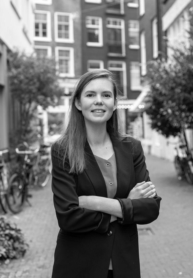 Daniëlle de Jager - Vanaf maart gemeenteraadslid Zorg, Werk & Inkomen voor D66 in Amsterdam. Beeld Het Parool