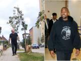 Deze man maakte al kennis met zijn toekomstige buurtbewoner Kanye West