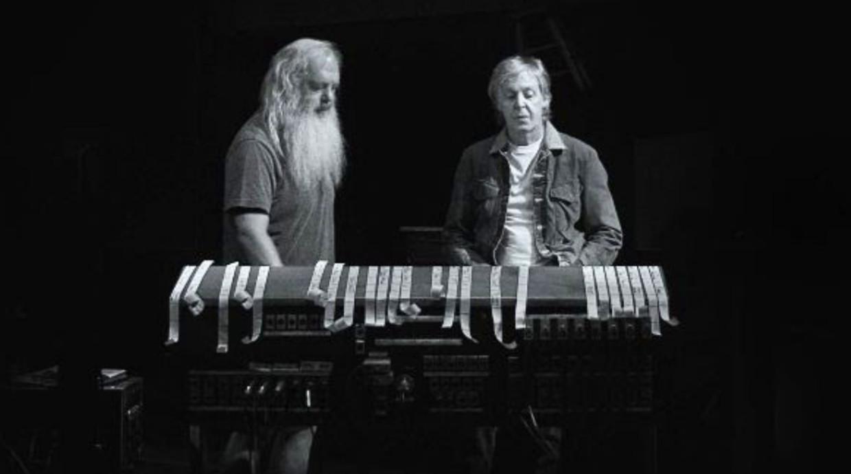 Rick Rubin & Paul McCartney Beeld RV