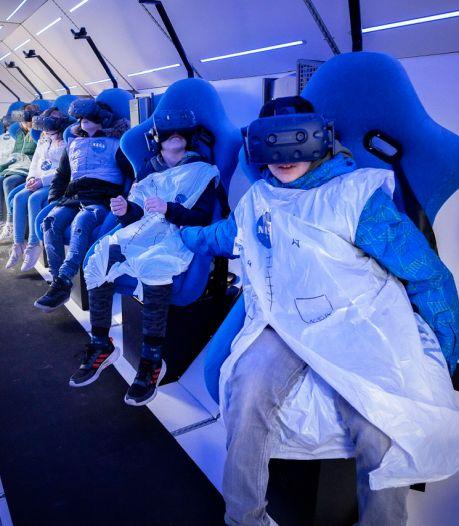 Even naar de maan en terug: deze kinderen beleven met SpaceBuzz een ruimtereis