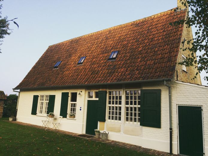 Volgend jaar starten Liesbeth Lietaer en Brecht Vandenberghe met een pop-up 'De Komeere' in hun beschermde vakwerkwoning uit 1634 in het hartje van Haringe.