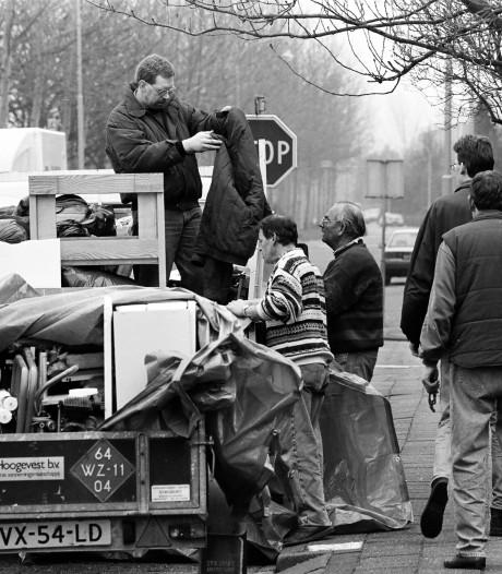 De evacuatie van 1995 herbeleven in Culemborg:  'Ik zie me nog zitten met de kanariepiet op schoot'