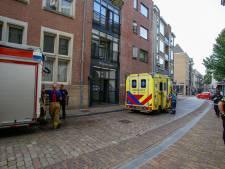 Brand door wasmachine in appartementencomplex Wijnstaete Dordrecht