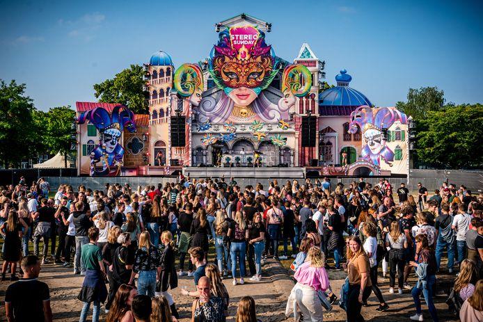 Het Stereo Sunday Festival in Venlo werd gehouden na de versoepelingen van de coronamaatregelen eind juni.