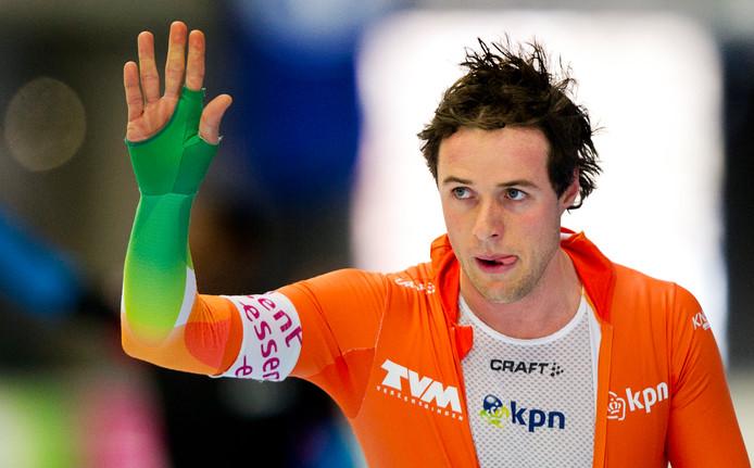 Simon Kuipers als coach terug in het schaatsen