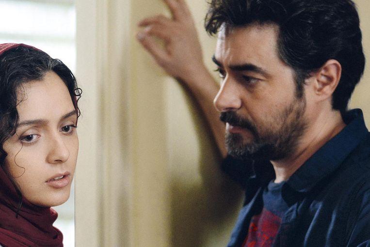 Taraneh Alidoosti en Shahab Hosseini in The Salesman. Beeld