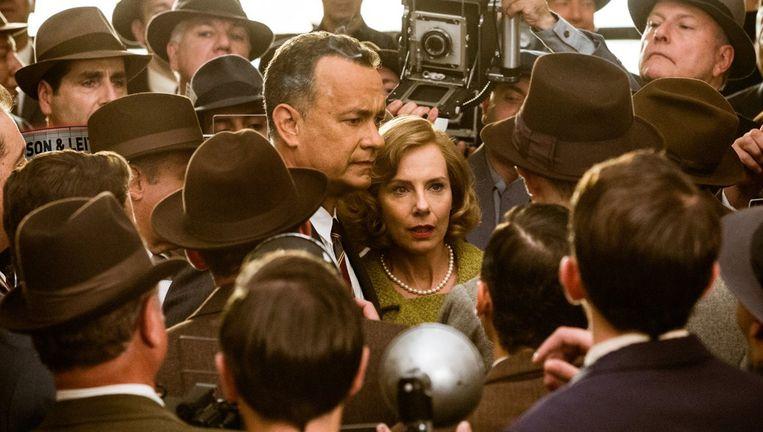 Tom Hanks speelt een advocaat in volle Koude Oorlogstijd. Beeld rv