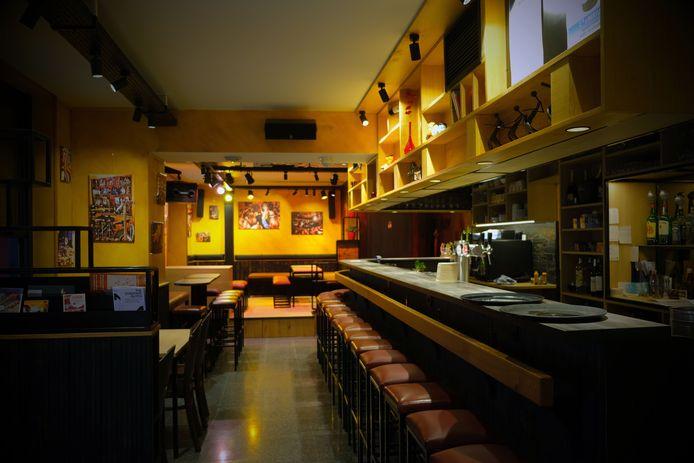 In café De Libertad in de Muntstraat wordt er geen gas meer gebruikt en voor in het hotel in aanbouw boven de bekende kroeg geldt hetzelfde.
