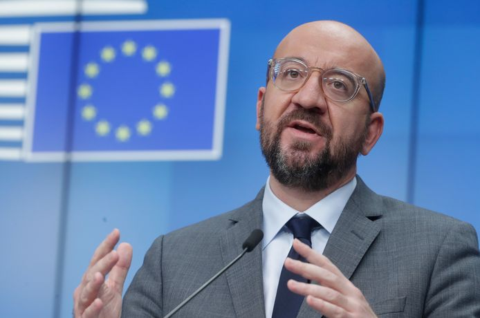 Charles Michel, président du Conseil européen.