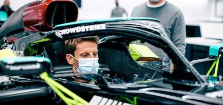 Romain Grosjean via Mercedes voor even terug in Formule 1: 'Ik ben zo opgewonden'