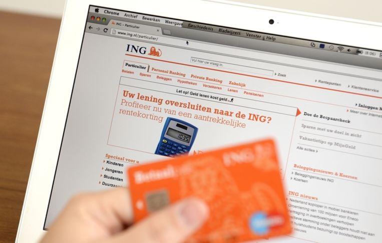 ING sluit 150 servicepunten in winkels. Beeld ANP
