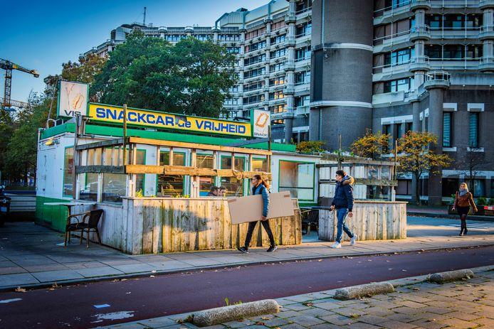 Snackcar De Vrijheid.