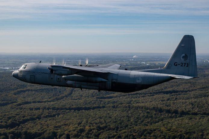 Hercules C-130 van de Koninklijke Luchtmacht