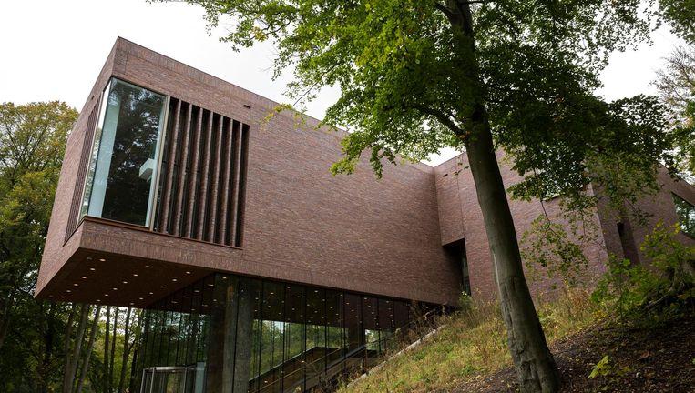 Het Lisser Art Museum op Landgoed Keukenhof. Beeld Hans Poel