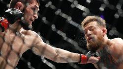 Russische kolos blijft ongeslagen: Khabib wint grootste UFC-kamp ooit van McGregor, nadien breekt massaal gevecht uit