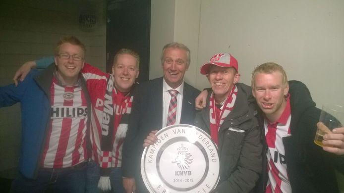 Familie Van der Staak uit Oirschot met Willy van der Kuijlen
