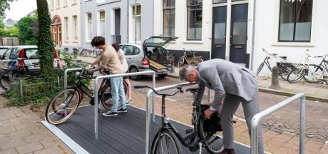 De fietsvlonder doet zijn intrede in Arnhem