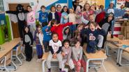 In pyjama naar school om zieke kindjes te steunen