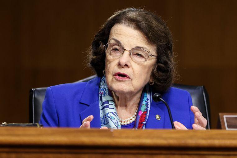 De 88-jarige senator Dianne Feinstein.  Beeld AP