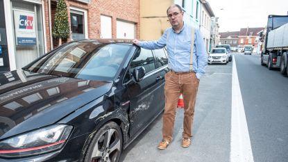 """""""Verkeerssituatie in Graaf van Landaststraat onhoudbaar: in twee jaar tijd mijn auto al drie keer aangereden"""""""