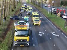 Groot ongeval op de Prinses Beatrixlaan in Rijswijk, meerdere gewonden