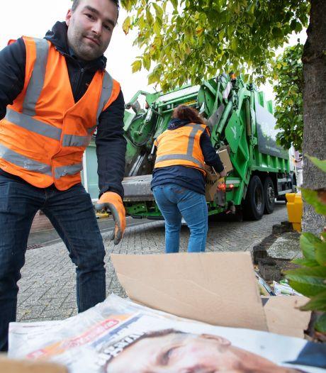 Verenigingen in Borculo kunnen de kas nauwelijks spekken met oud papier, maar ze gaan door: 'Je kunt niet ineens stoppen!'