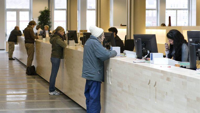 Het nieuwe stadsdeelkantoor in Amsterdam-Oost. Beeld Floris Lok