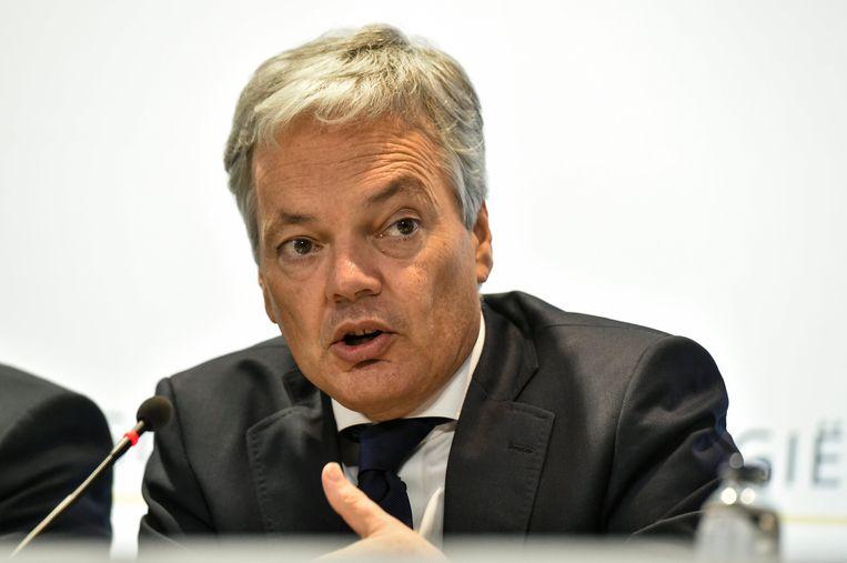 Minister van Buitenlandse Zaken Didier Reynders (MR) Beeld Photo News