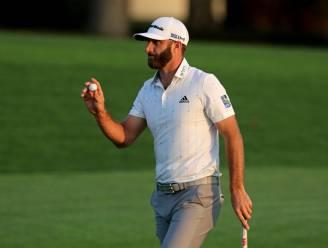 Dustin Johnson neemt optie op eindzege Masters golf