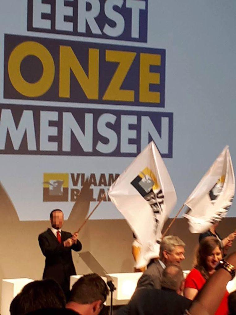 G. V. op het Vlaams Belang-congres in Gent Beeld RV