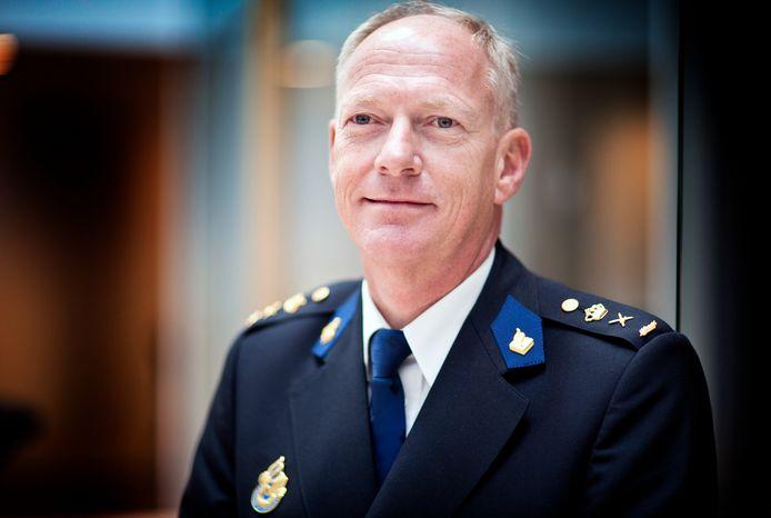 Portret van korpschef politie Oscar Dros