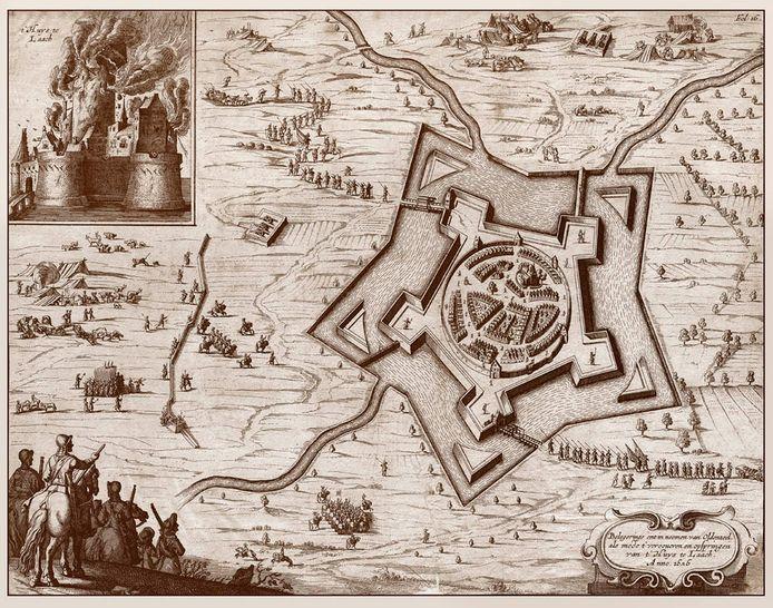 Onder het motto 'Het beleg van Oldenzaal' moet in 2022 een groot publieksevenement in de binnenstad van Oldenzaal worden gehouden.