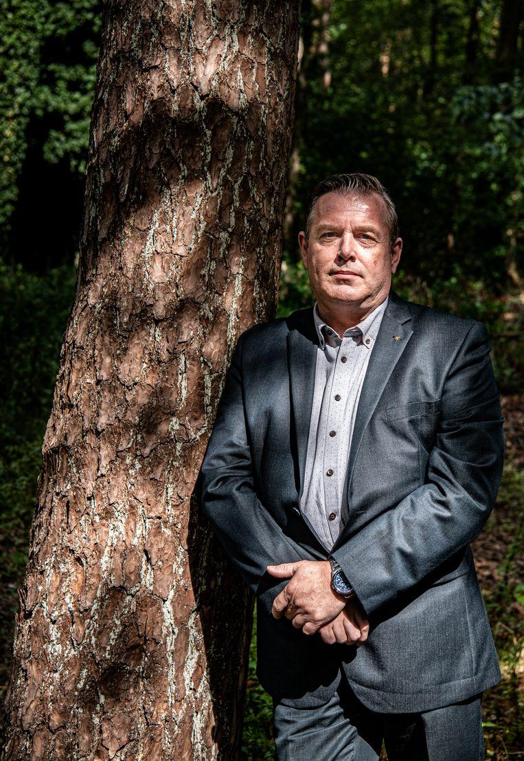 René Haring: 'Ik had 't gebruik van geweld geperfectioneerd. Of het nou de buurman of mijn partner was, agressie werkte'. Beeld Koen Verheijden