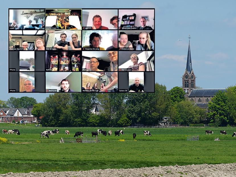 De dorpsquiz: digitale gezelligheid en vragen over de lokale voetbalclub, de plaatselijke historie of het café van tante Mien.