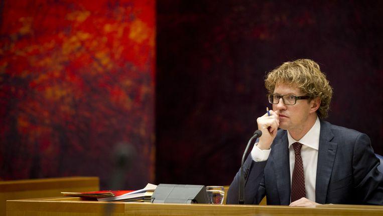 Staatssecretaris Sander Dekker (Onderwijs) Beeld ANP