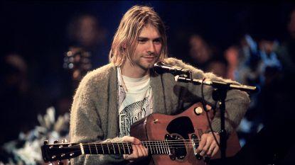 Gebruikt pizzabord Kurt Cobain levert 20.000 euro op