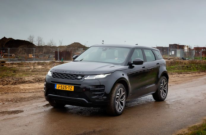 De hybride-versie van de Range Rover Evoque heeft standaard vierwielaandrijving.