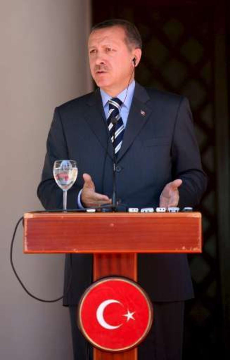 Gisteren bezocht de Turkse premier Recep Tayyip Erdogan Noord-Cyprus.